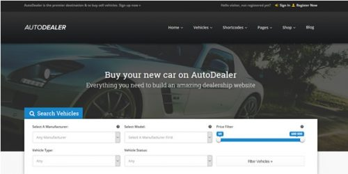 home-website-car-dealer