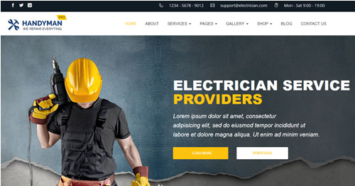 Websites For Electricians | whobods.co.uk